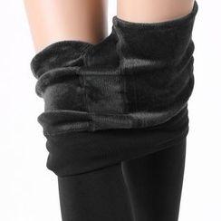 Aeoo - Fleece-Lined Leggings