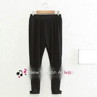JVL - Pleated Plain Harem Pants