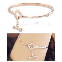 Miss21 Korea - Chain-Linked Lariat Bangle