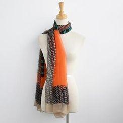 SO Central - 圖案插色圍巾