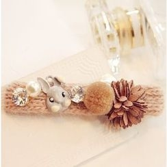 Queen Shine - Embellished Rabbit Hair Clip