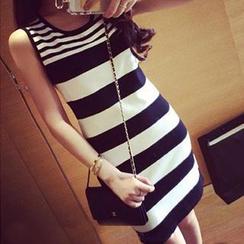 Rocho - Striped Tank Dress