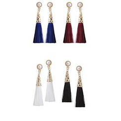 Ticoo - Tassel Earrings