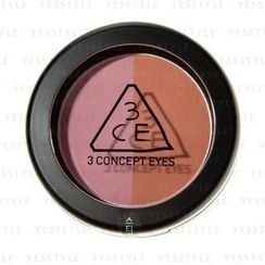 3 CONCEPT EYES - Duo Color Face Blush (Make Me Blush)