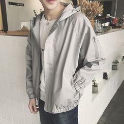 Arthur Look - Embroidered Hooded Jacket