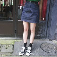 mimi&didi - Denim Miniskirt