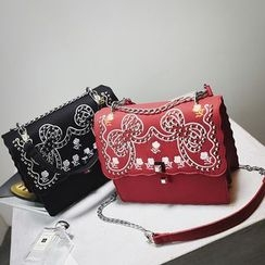 Nautilus Bags - Embroidered Crossbody Bag