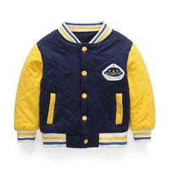 Yobaby - 小童菱格棒球外套