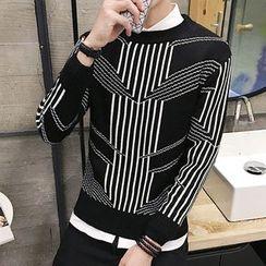 Bay Go Mall - Striped Sweater