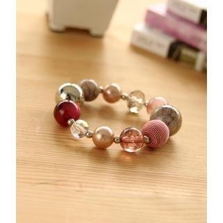 Petit et Belle - Beaded Elastic Bracelet