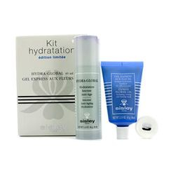 Sisley - Moisturizing Kit: Hydra-Global Airless 40ml + Express Flower Gel 60ml