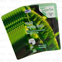 3W Clinic - Fresh Green Tea Mask Sheet
