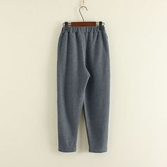 Mushi - Band Waist Knit Pants