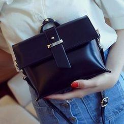 Youme - Studded Handle Shoulder Bag