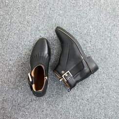 VIVIER - Buckled Ankle Boots