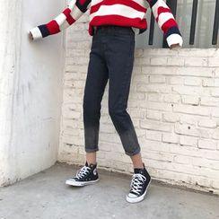Big Cat - Gradient High Waist Jeans