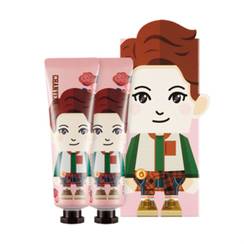 Nature Republic - Hand And Nature Hand Cream - Rose (EXO Edition - Chan Yeol) 2pcs