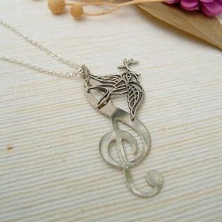 MyLittleThing - Singing Bird Necklace