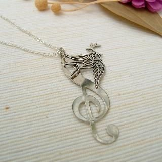 MyLittleThing - Singing Bird Necklace