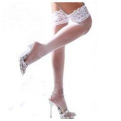 Eros - Lace Trim Stockings