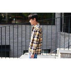 SCOU - Pocket-Front Plaid Shirt
