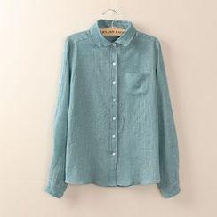Tangi - Peter Pan Collar Shirt
