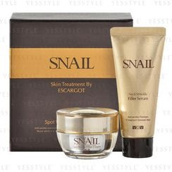VOV - Snail Wrinkle Filler Set (2 items): Cream 30g + Neck Serum 40ml