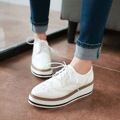 JY Shoes - Brogue Oxfords