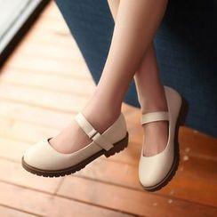 傾城 - 扣帶平跟鞋