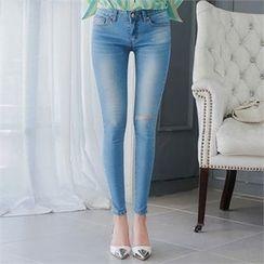 Babi n Pumkin - Washed Skinny Jeans