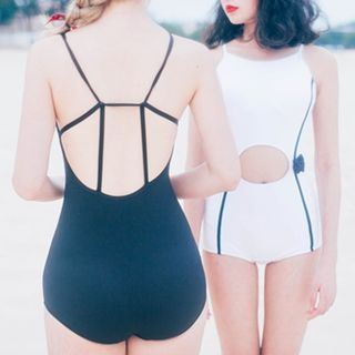 Roseate - Bow Cutout Swimsuit