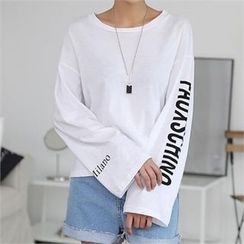CHICFOX - Lettering Cotton Top