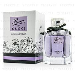 Gucci 古芝 - Flora By Gucci Generous Violet Eau De Toilette Spray