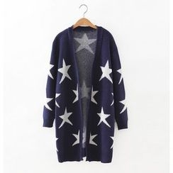 Blue Rose - Star Long Cardigan
