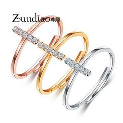 Zundiao - 飾鑽戒指