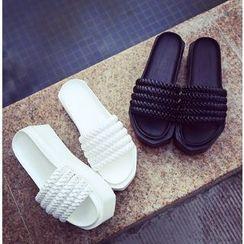 BAYO - 厚底一字涼鞋