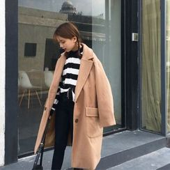 BZY - Oversized Double-Breasted Coat