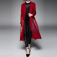 Alaroo - Printed Woolen Coat