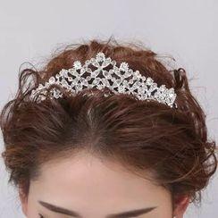 Sky n Sea - Set : Wedding Tiara + Earrings