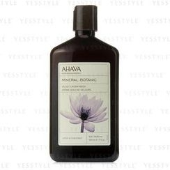AHAVA - Mineral Botanic Velvet Cream Wash - Lotus Flower and Chestnut