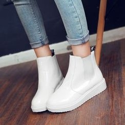 Pangmama - Patent Ankle Boots