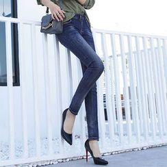 Hola - Washed Skinny Jeans
