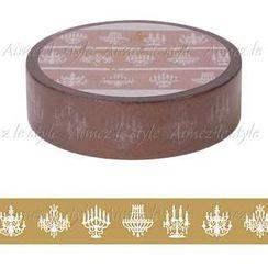 Aimez le style - Aimez le style Masking Tape Primaute Regular Chandelier Bronze