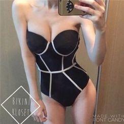 LANYI - Panel Swimsuit