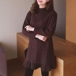 Cocofield - Long-Sleeve Knit Dress