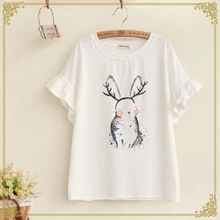 Fairyland - Short-Sleeve Print T-Shirt