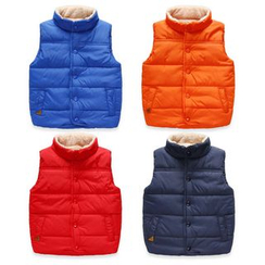 WellKids - Kids Fleece-Lined Plain Vest
