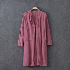 Rosadame - Single Button Long Light Jacket