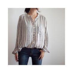 MASoeur - Mandain-Collar Blouse