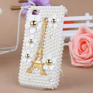 Fit-to-Kill - Pearl Eiffel Tower iPhone 4/4S Case